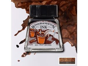 Winsor and Newton watervaste tekeninkt