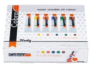 Cobra study waterverdunbare olieverf