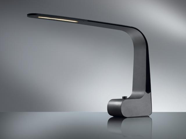 Bureaulamp hansa ledlamp modern art zwart