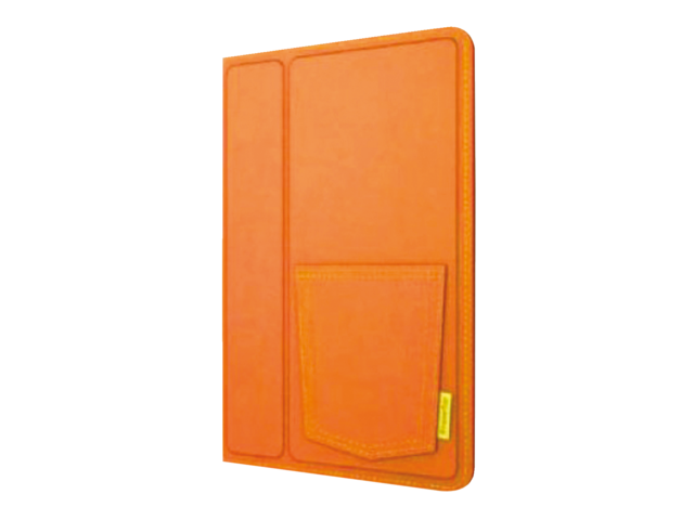 Sleeve xtreme mac voor ipad mini denim oranje