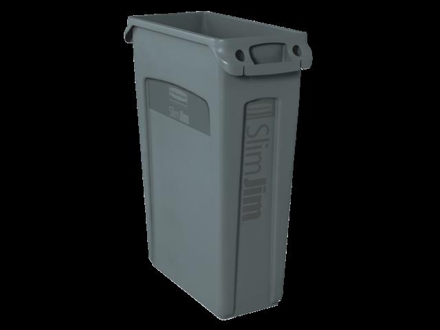 Afvalcontainer slim jim grijs 87 liter