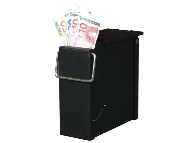 Cash box de raat zwart