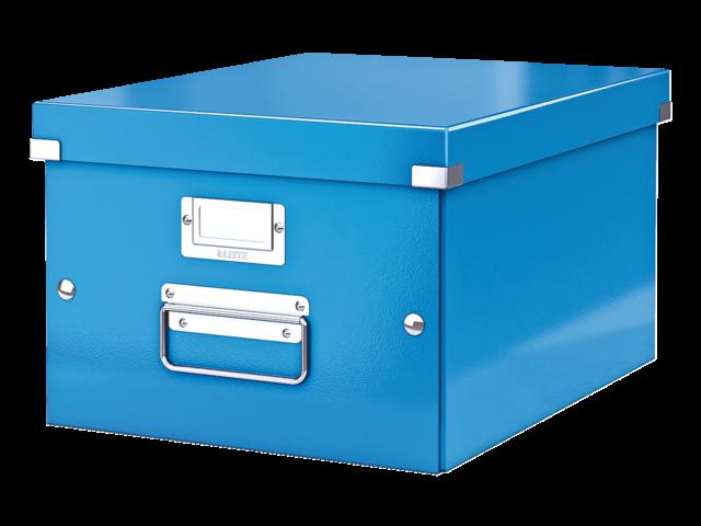 Opbergbox leitz click & store 265x188x335mm blauw